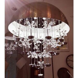 39W LED Kristall Hängeleuchte Wohnzimmer Deckenlampe Pendellampe ...