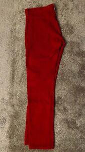 Levis Roja De Pana Mens Tamano 31 X 32 511 Ajustados Pantalones Slim De Cadera A Tobillo Ebay