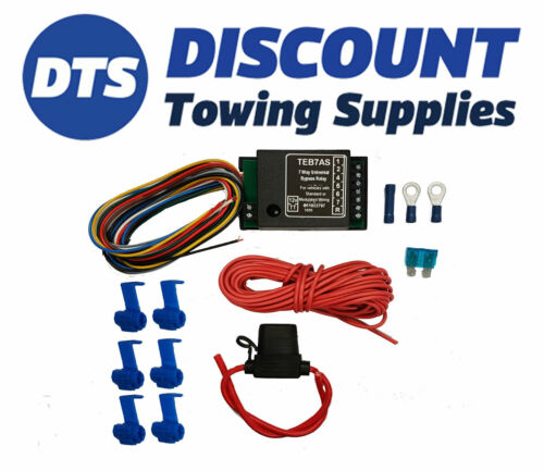 Nissan Towbar Smart 7 Way Bypass Relay Kit For Cambus /& Multiplex Wiring