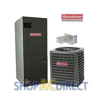 3 (3.0) Ton 13 SEER Goodman Split AC System GSX130361 ARUF36C14