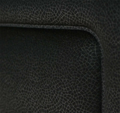 2 BLACK HIGH QUALITY FRONT CAR SEAT COVERS PROTECTORS FOR KIA RIO