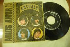 "THE CASUALS"" ADIOS AMOR-disco 45 giri JOKER It 1968"" BEAT Italy/UK-"