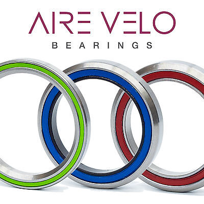 STAINLESS STEEL HEADSET BEARINGS BICYCLE ROAD TIME TRIAL MTB AND CYCLOCROSS