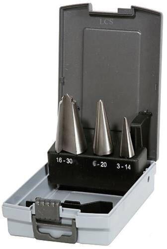 PROFI Blechschälbohrer HSS 3 tlg 3-14 16-30 mm 6-20