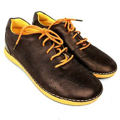 Women's Shoes Sporting Alegria Ess-2003 Essence Bronze Orange Lace Up Women's Comfort Shoes Sz 6-6.5/37 Refreshing And Beneficial To The Eyes Comfort Shoes