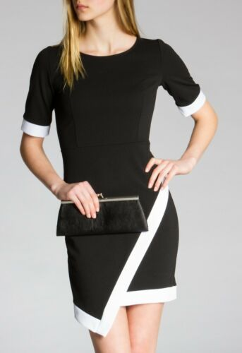 CASPAR Damen Kleid Cocktail Kleid Mini Dress Bandage Style Bleistiftkleid NEU