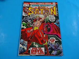 son-of-satan-13-origin-story-key-1st-marduk-marvel-comics-Comic-book