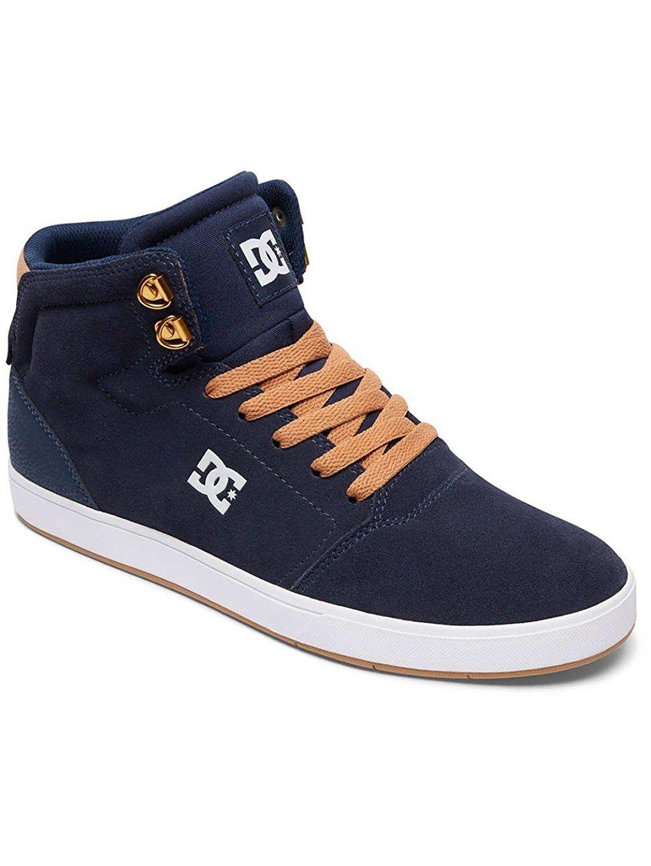 Zapatos DC Crisis High Navy Camel 41 41 41 42 43 44 45 46 3807e0