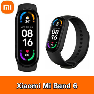 "Xiaomi Mi Band 6 Smart Bracelet 1.56"" AMOLED Screen Fitness Tracker BT5.0"