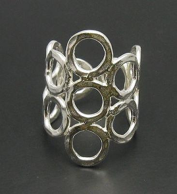 Besorgt Sterling Silber Ring Einstellbare Größe R000543 Empress