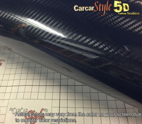 5D Gloss Ultra Shining【ALL COLOUR】Carbon Fibre Vinyl Wrap Sticker 1.52m x 1m 2m
