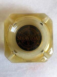 Vintage-Smoked-Glass-Showboat-Hotel-Casino-Las-Vegas-Nevada-Ashtray