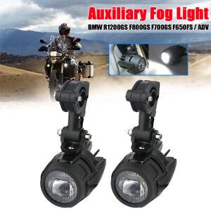 LED-Feux-Brouillard-Auxiliaire-Phare-Eclairage-Pour-BMW-R1200GS-F800-700GS-ADV