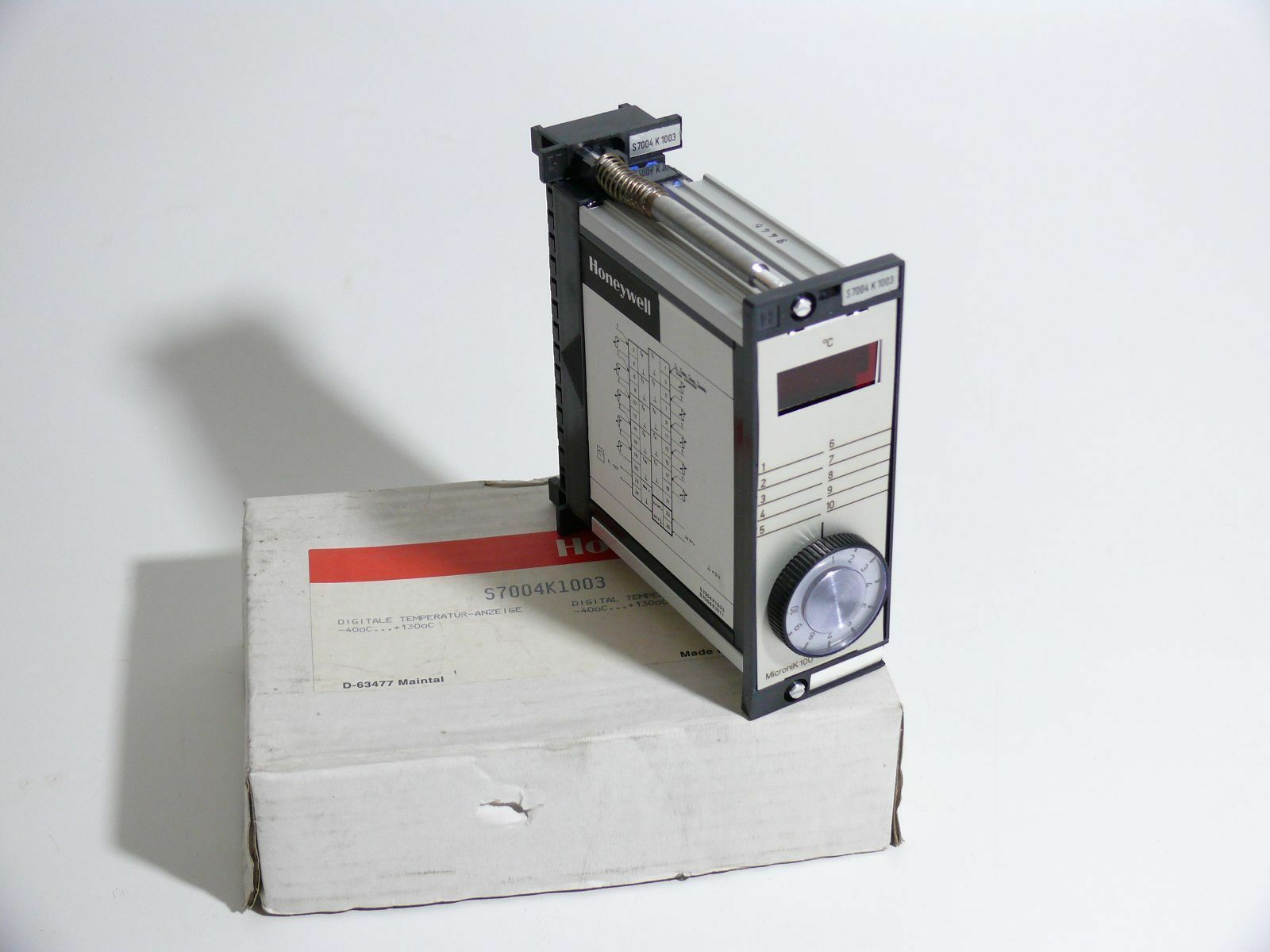 HONEYWELL Digitale Temperatur-Anzeige Indicator Micronik S7004K1003