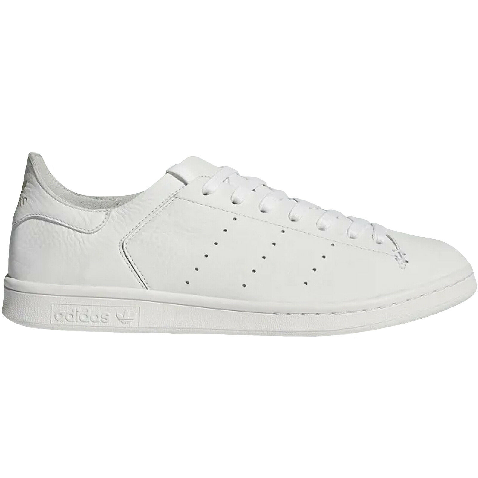 Adidas Originals Mens Stan Smith Leather Sock Casual Trainers Turnschuhe - Weiß