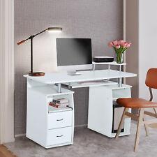 Mesa de Ordenador Oficina  Escritorio Despacho Escuela Madera 120x55x85cm