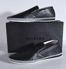 43a569d947e Zanzara Merz Leather Slip on Shoes Black Size US 11