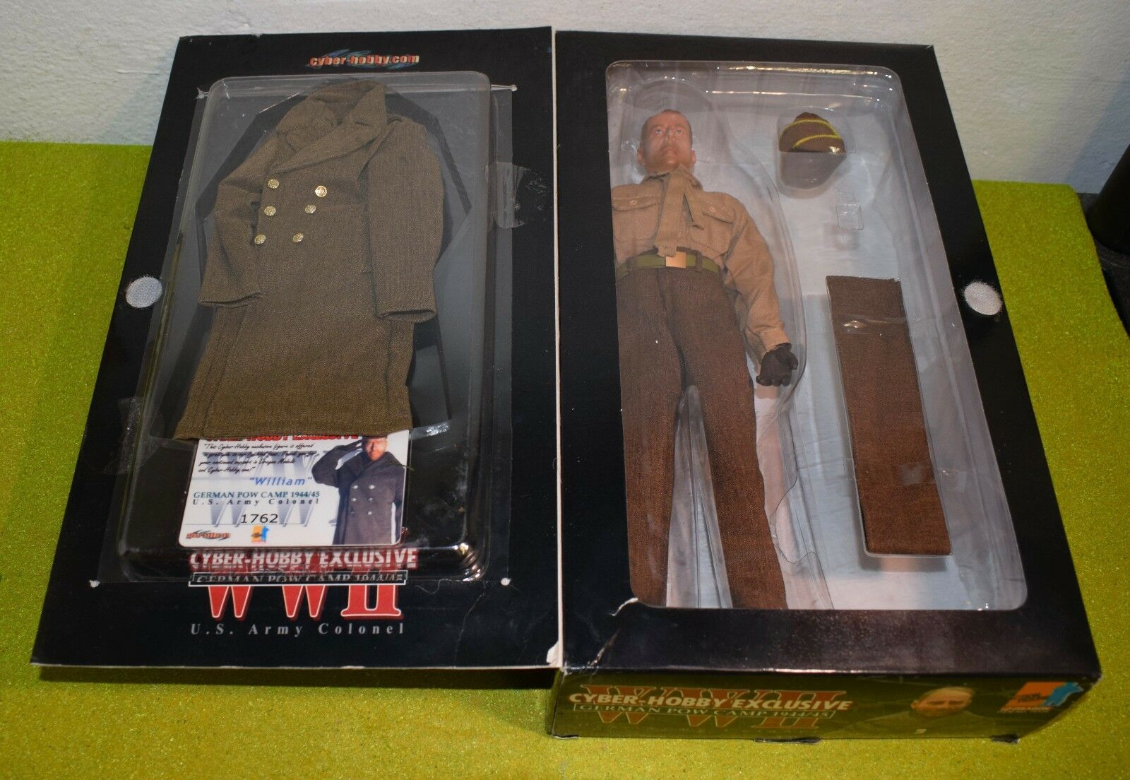 DRAGON 1/6 SCALE WW II US WILLIAM ARMY COLONEL EX-DISPLAYSEE PICTURES