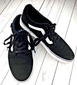 Vans Old Skool Classic Black White Mens Sneakers Tennis Shoes Sz 10