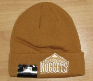 fa2bd1a11b5 Image is loading Denver-Nuggets-New-Era-Timberland-Cuffed-Beanie-Winter-