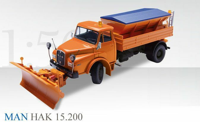 CONRAD 1 50 MAN HAK 19.241 with snowplow 1053 0 BRAND NEW IN A BOX