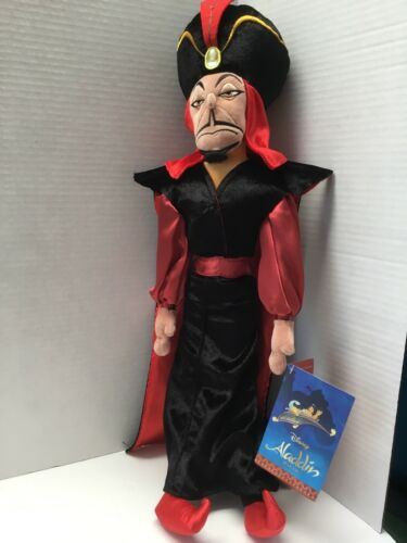 "The Disney Aladdin Villain Plush Doll  21/"" NWT Authentic Disney Store JAFAR"