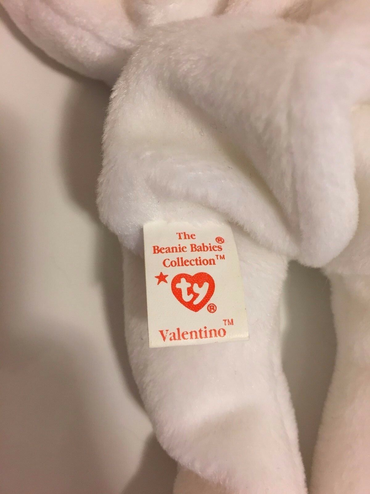 RARE Valentino Beanie Baby with Multiple Errors PVC Brown Brown Brown Nose 7d97b5