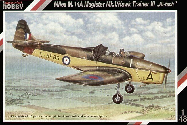Special Hobby 1 48 Miles M.14A Magister Mk.1 Hawk Trainer III