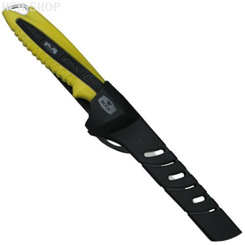 Buck File animal cuchillo 10 - 17 cm el Sr. crappie antideslizante pinzamiento nylonscheide