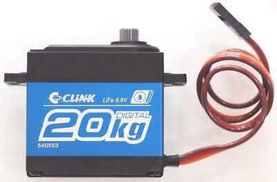 C CLINK Waterproof 4.8-6.6V Super Torque Digital Servo Crawler RC Cars #LW-20MG