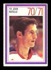 1970-71 ESSO POWER PLAYERS NHL #19 JEAN RATELLE EX-NM N Y RANGERS HOCKEY STAMP