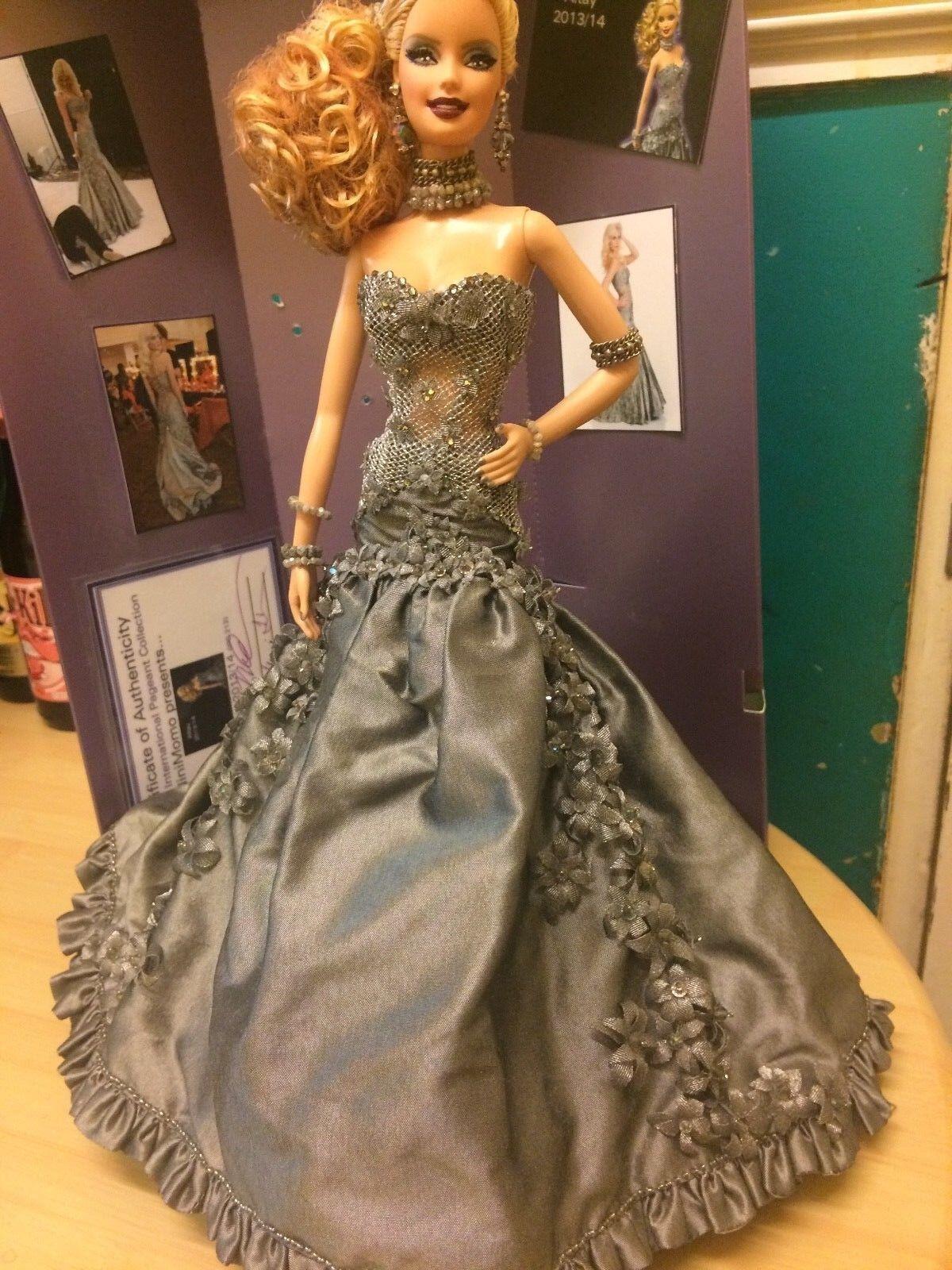 Ninimomo 'One of a Kind , Miss Sudamérica muñeca Barbie, Exquisito
