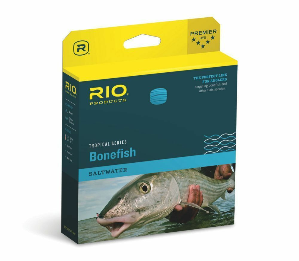 RIO TROPICAL BONEFISH WF8F  8 WEIGHT FLOATING SALTWATER  FLY LINE SAND  blu
