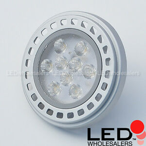 wholesale lot ar111 g53 base 11 watt led spot light bulb 12 volt ac dc ebay. Black Bedroom Furniture Sets. Home Design Ideas