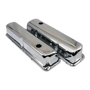 Chrome-Plated-Valve-Covers-1957-1976-Ford-FE-Big-Block-352-390-406-427-428
