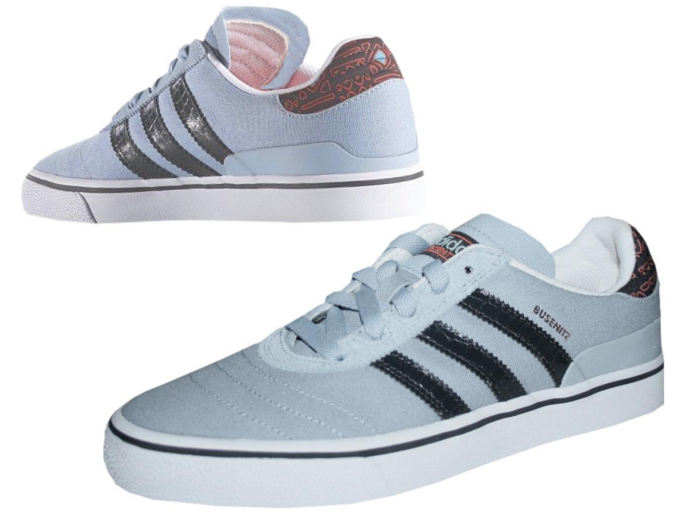 save off 26803 5d9b4 ... Adidas Busenitz Vulc Turnschuhe Skater Skater Skater grau Canvas Damen  Herren Gr. 39 1 3