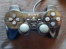 Official Sony Playstation 2 PS2 Dualshock 2 Controller Black