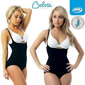012f3c544 Image is loading JML-Belvia-Ladies-Body-Suit-Shaper-Bodysuit-Shapewear-