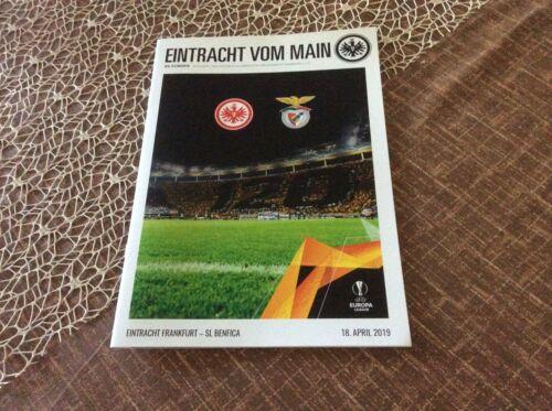 """Heft von Eintracht Frankfurt """"Eintracht vom Main"""" Europa Ausgabe 6 gegen Lissabo"""