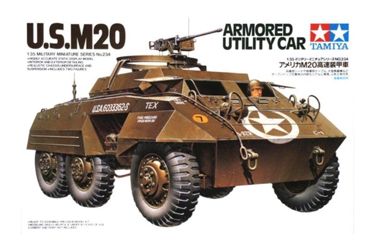 TAMIYA 35234 1 35 U.S. M20 Armored Utility Car