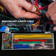 140pcbox U Shape Solderless Breadboard Jumper Cable Electric Wire Diy Shield Zg