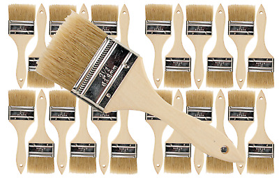 1 1//2 inch Chip Paint Brushes for Paint 96 Pk Stains,Varnishes,Glues,Gesso