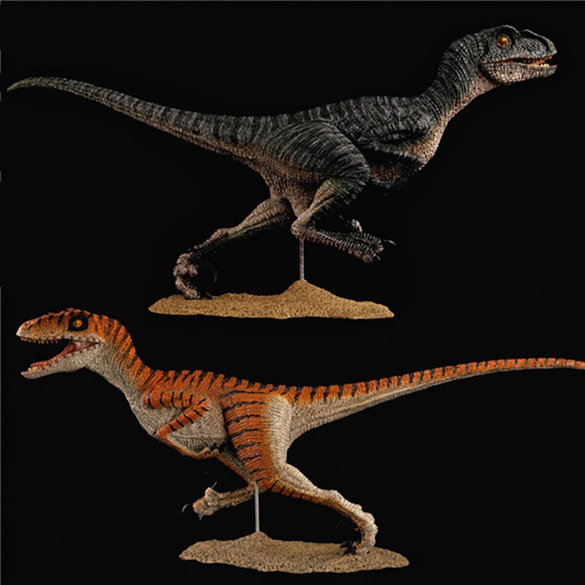 REBOR 9.4  Velociraptor Figure Raptor Dinosaur Model Animal Decor Collector Toy