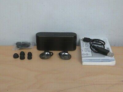 Auriculares inal/ámbricos Sony WF1000X Cancelaci/ón de ruido, Sense Engine, Bluetooth, compatible con aplicaci/ón Headphones Connect negro