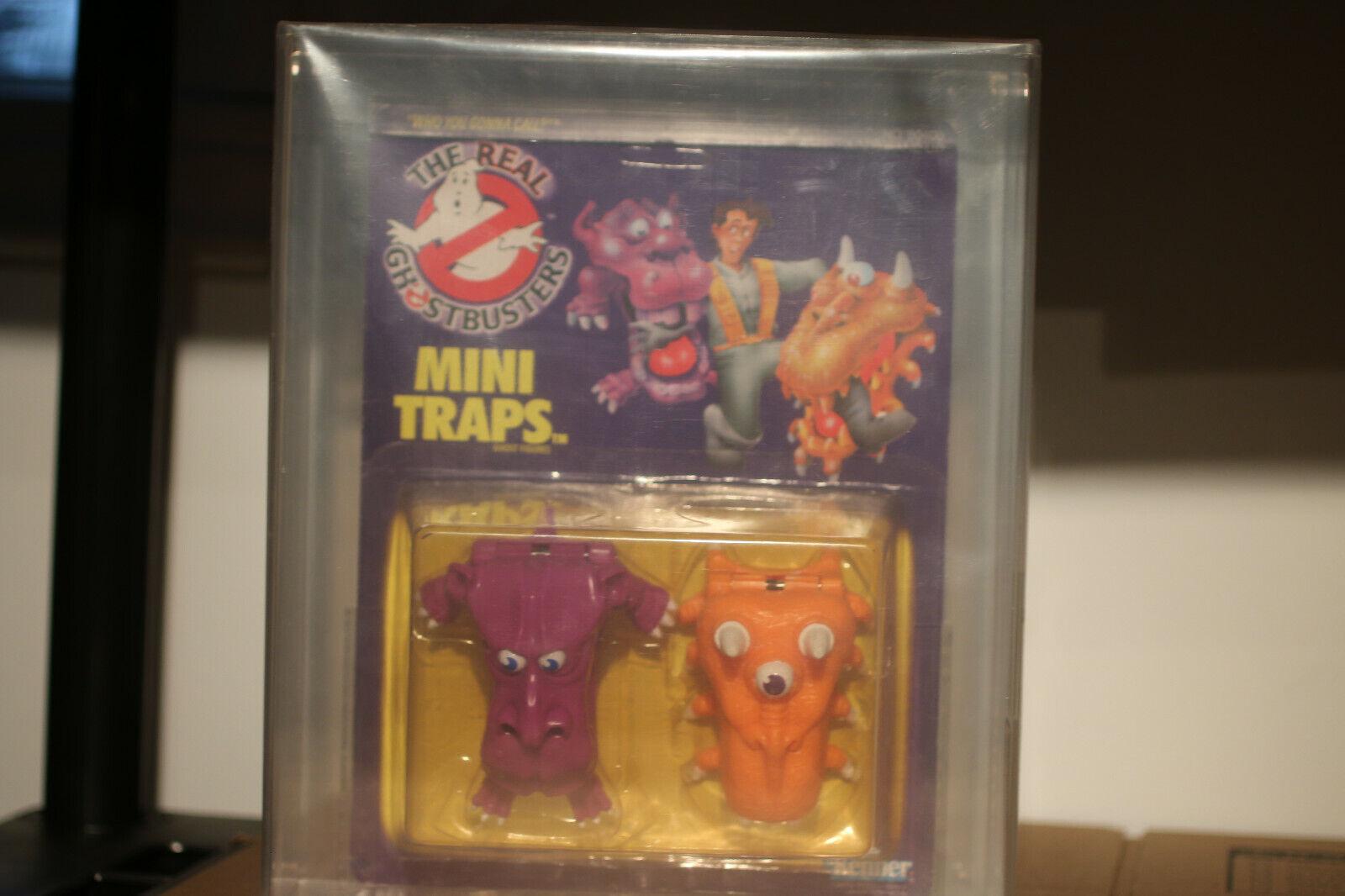 Mini trampas fantasmas Vintage Kenner Real Ghostbusters figuras de acción 1989 autoridad Figura de Acción 75