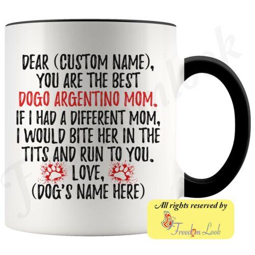 Details about  /Dogo Argentino Mom Mug Mother/'s Day Gift For Dogo Argentino Lover Dogo Argentino