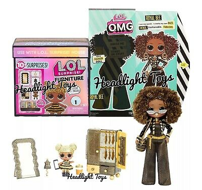 SAME DAY FAST SHIPPING LOL Surprise OMG Fashion Doll ROYAL BEE