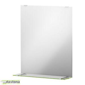 Details zu IKEA FULLEN Spiegel mit Ablage 50x60cm Badezimmerspiegel  Badspiegel Glas