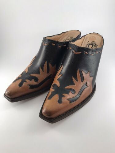 Charlie 1 Horse Lucchese Western Mules Slides Wome