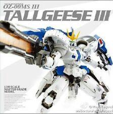 Gundam Models MG 1/100 TALLGEESE III EW Luminous stickers Original box Suit Mode